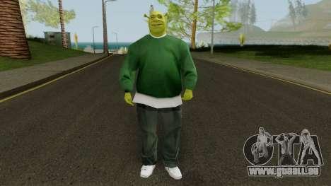Shrek GSF pour GTA San Andreas deuxième écran