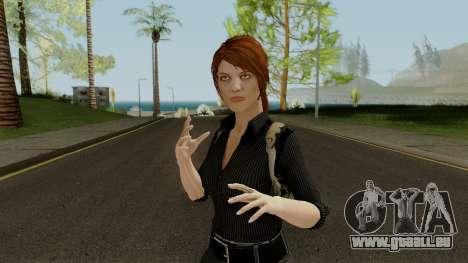 Anna Grimsdottir Blacklist Skin pour GTA San Andreas