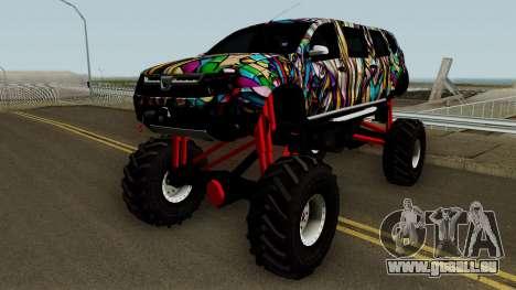 Dacia Duster Limo Monster 2013 für GTA San Andreas