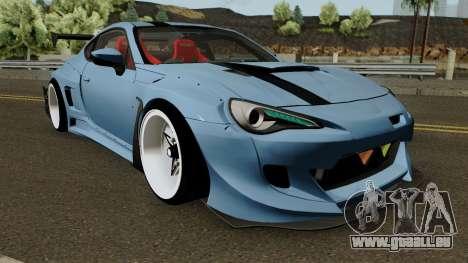 Toyota GTR86 Rocket Bunny Pandem V3 2013 für GTA San Andreas