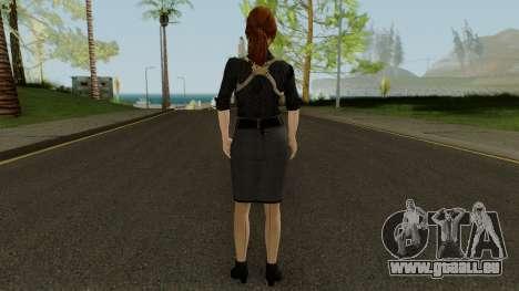 Anna Grimsdottir Blacklist Skin pour GTA San Andreas troisième écran