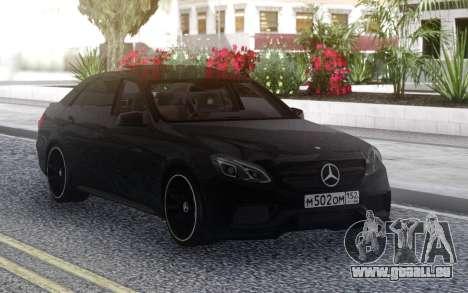 Mercedes-Benz E-Class E63 AMG S 4-Matic pour GTA San Andreas