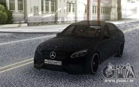 Mercedes-Benz E-Class E63 AMG S 4-Matic pour GTA San Andreas vue arrière