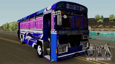 SL Bus Panadura pour GTA San Andreas