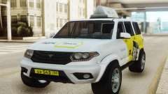 UAZ Patriot Yandex taxi pour GTA San Andreas