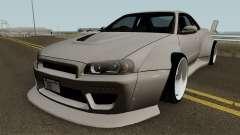 Nissan Skyline GT-R Mk.X Widebody (R34) pour GTA San Andreas