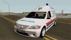 Dacia Logan MCV Ambulanta