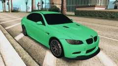 BMW M3 E92 Green Coupe pour GTA San Andreas