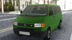 Volkswagen Transporter Mk4 1999 Green pour GTA San Andreas
