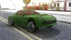 Mazda RX-7 Green Drift pour GTA San Andreas