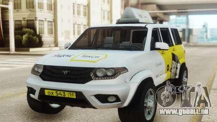 UAZ Patriot Yandex taxi für GTA San Andreas
