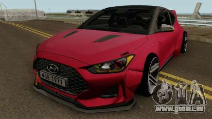 Hyundai Veloster Turbo WideBody 2019 pour GTA San Andreas