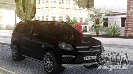 Mercedes-Benz GL63 Black pour GTA San Andreas