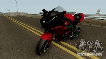 Kawasaki Ninja H2R 2015 für GTA San Andreas