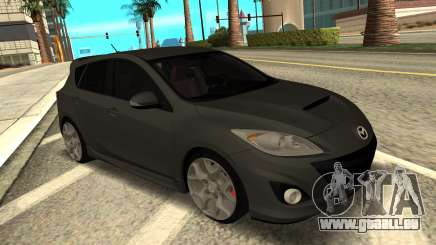 Mazda 3 MPS Stock pour GTA San Andreas