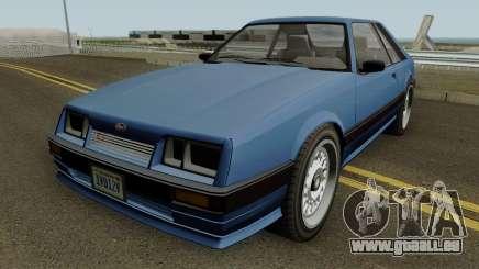 Vapid Uranus (Lozspeed) GTA IV pour GTA San Andreas