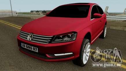 Volkswagen Passat B7 2014 pour GTA San Andreas