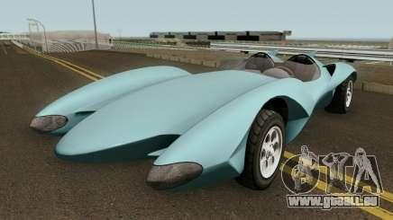 Declasse Scramjet Mach 5 v2 GTA V für GTA San Andreas