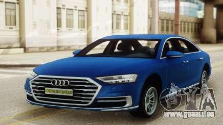 Audi A8 Sedan 2018 für GTA San Andreas