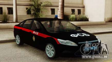 Ford Focus 2 Restyling FSB pour GTA San Andreas
