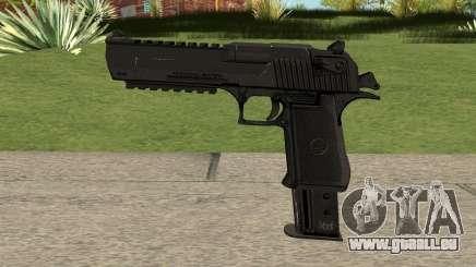 Desert Eagle Extended Magazine Custom (.50AE) für GTA San Andreas