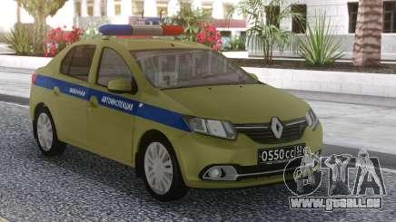 2016 Renault Logan VAI pour GTA San Andreas