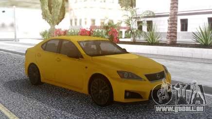 Lexus IS F 2008 pour GTA San Andreas