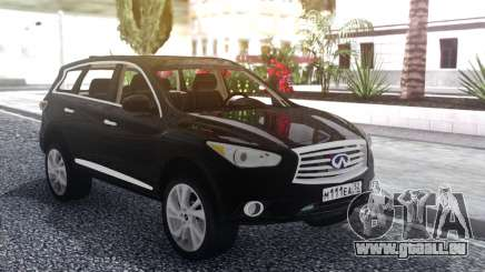 Infiniti JX 35 2013 Lifted pour GTA San Andreas