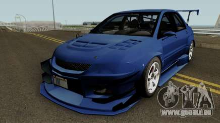 Mitsubishi Lancer Evolution IX OZ Drift 2006 für GTA San Andreas