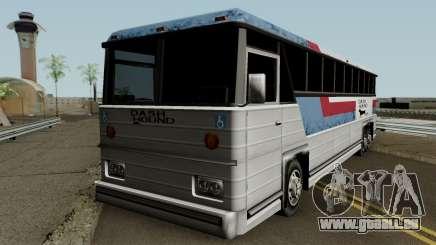 Beta Bus Dashound für GTA San Andreas