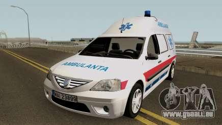 Dacia Logan MCV Ambulanta für GTA San Andreas