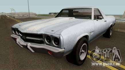 Chevrolet El Camino SS - MQ 1970 pour GTA San Andreas