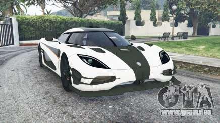 Koenigsegg One1 2014 v1.2 [replace] pour GTA 5