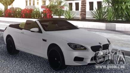 BMW M6 Cabrio White für GTA San Andreas