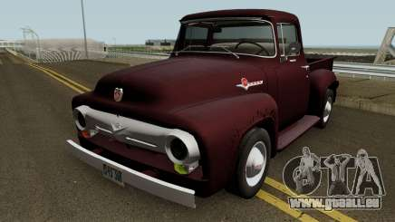 Ford F-100 V8 1956 pour GTA San Andreas