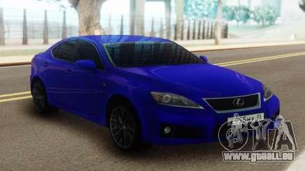 Lexus IS-F Blue für GTA San Andreas