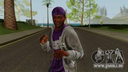 Ballas Member 3 GTA V pour GTA San Andreas