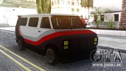 GMC Van pour GTA San Andreas