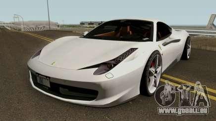 Ferrari 458 Italia 2013 pour GTA San Andreas