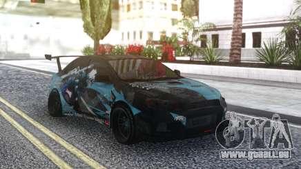 Mitsubishi Lancer X Tuned für GTA San Andreas