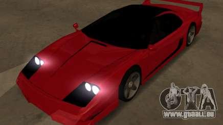 Turismo Top LQ für GTA San Andreas