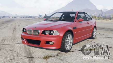 BMW M3 coupe (E46) 2000 pour GTA 5