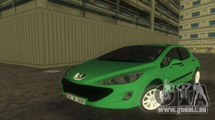 2010 Peugeot 308 pour GTA Vice City
