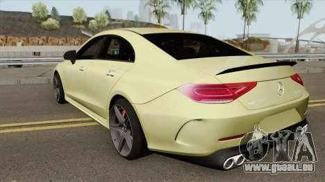 Mercedes-Benz AMG CLS 53 2019 pour GTA San Andreas