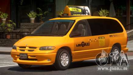 1996 Dodge Grand Caravan LC Taxi für GTA 4