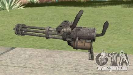 Minigun (HD) für GTA San Andreas