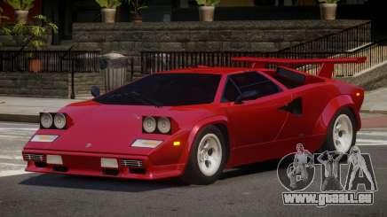 1985 Lamborghini Countach LP500 QV pour GTA 4