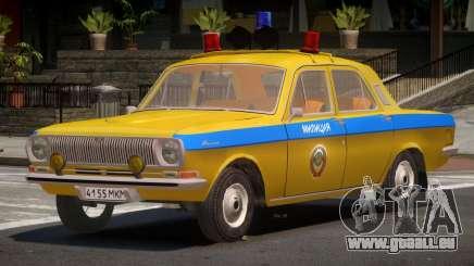 GAZ 24-01 Volga Police für GTA 4