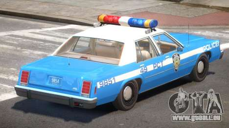 Ford LTD Crown Victoria NYC Police 1986 pour GTA 4