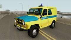 UAZ 469 (Syndicat de la Police)